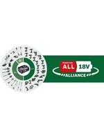 Bosch Bosch Accu en lader 18V Starter Set - Met 2x 18 V Li-Ion accu en 45-minuten lader AL 1830 CV