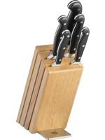 WMF WMF Spitzenklasse Plus Messenset 6-delig - Met messenblok