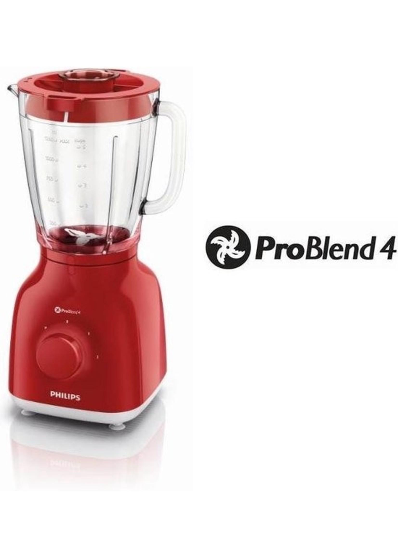 Philips Philips Daily HR2105/50 - Blender - Rood