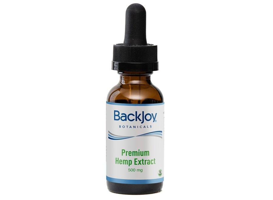 Premium Hennep olie extract 500mg