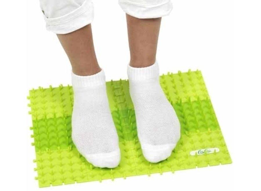Les pieds suédois du tapis à ongles