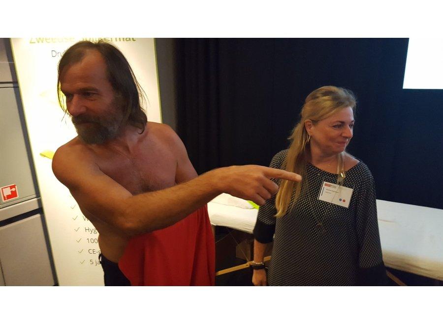 Zweedse Spijkermat medium - Wim Hof