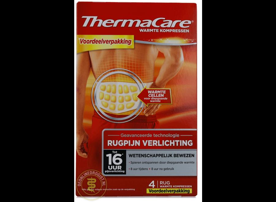 ThermaCare Rugpijn Warmte Kompressen
