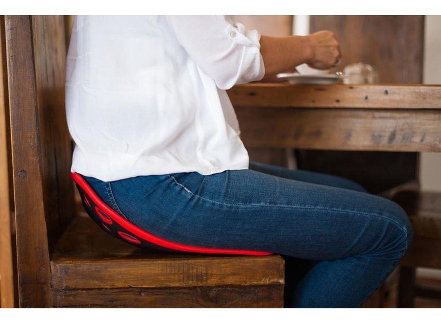 Backjoy Sitsmart Posture Plus Red Back support