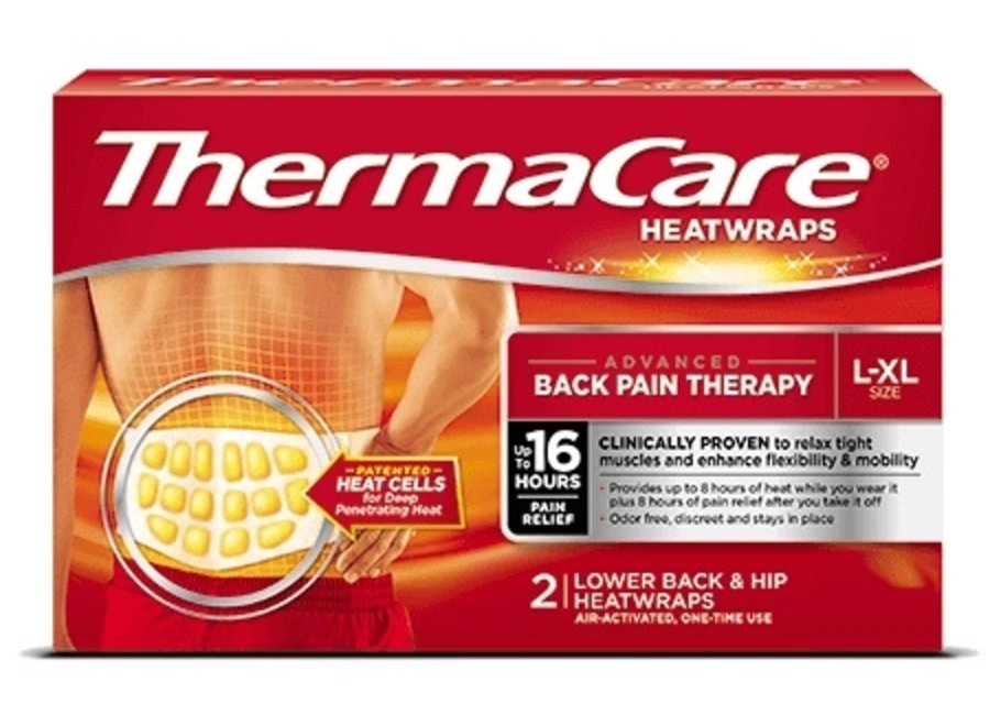 ThermaCare Back Pain Heat Compresses