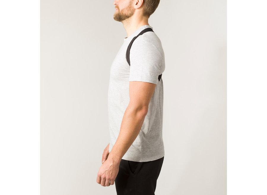 Swedish Posture Flexi Posture Brace Black S-M