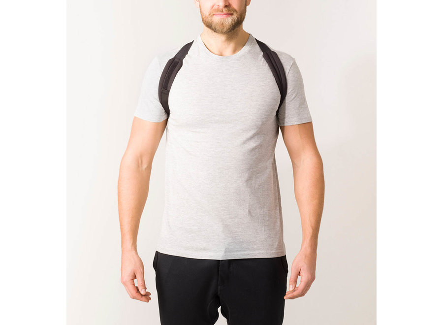 Swedish Posture Flexi Posture Brace White S-M