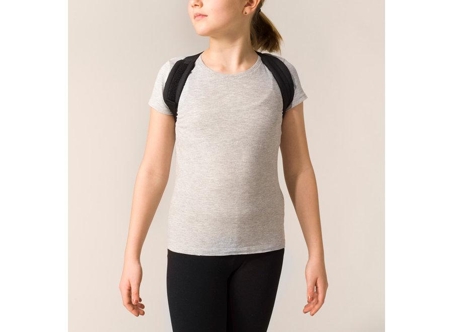 Kids Posture Harness  Black 6 - 12 Years