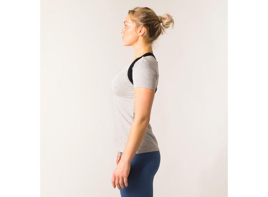 Swedish Posture Flexi Posture Brace Pink One Size