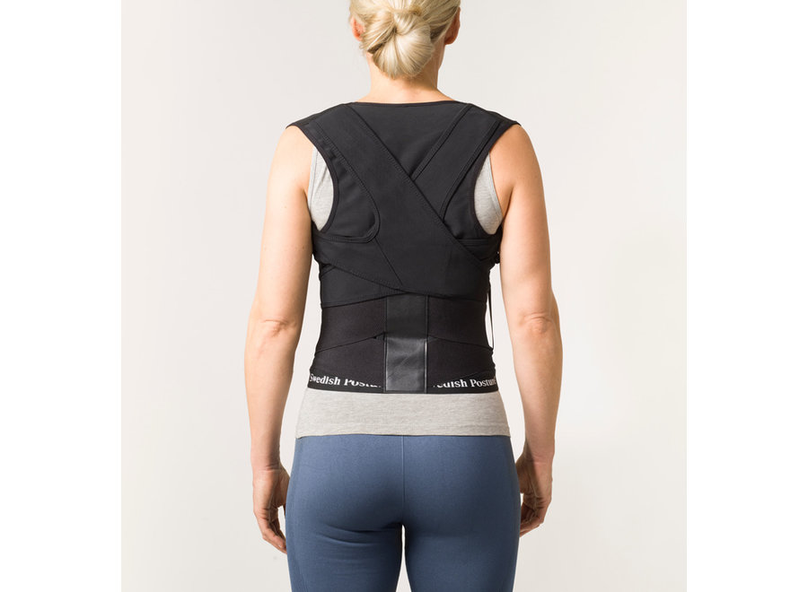Position Posture Supporting Vest Black S