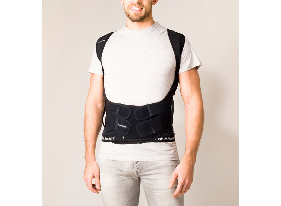 Position Posture Supporting Vest Black XS