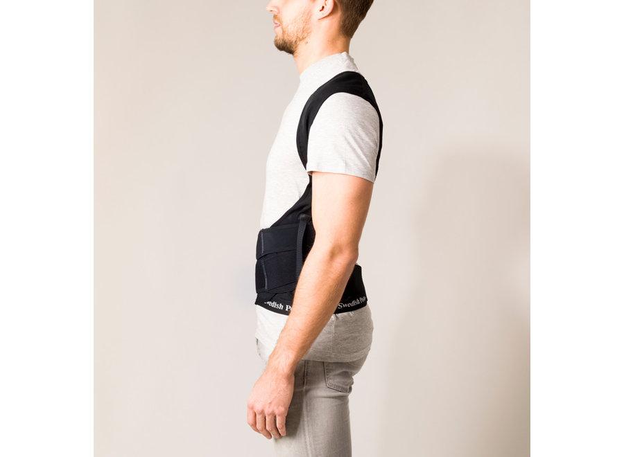 Position Posture Supporting Vest Black L