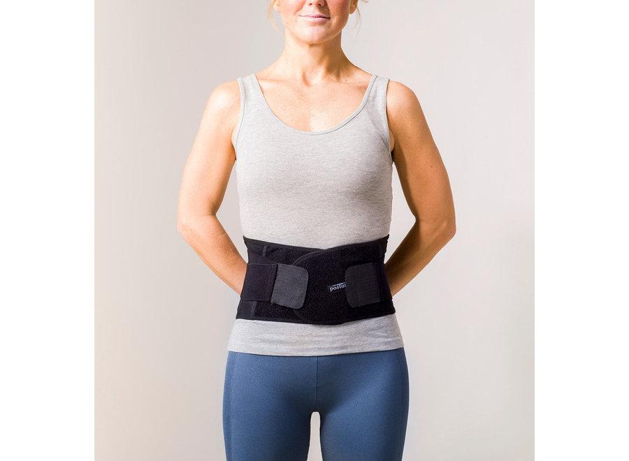 Stabilize Lumbar Back Belt Black L