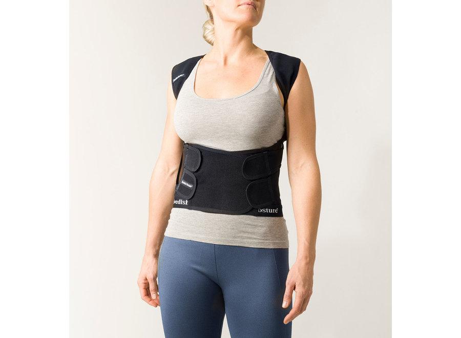 Position Posture Supporting Vest Black M