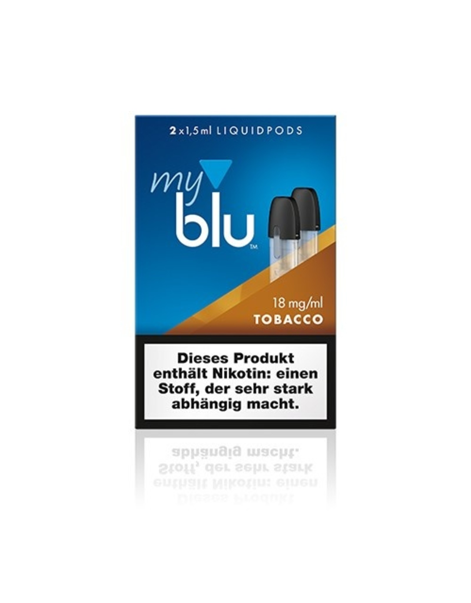 My Blu myblu TOBACCO ROASTED BLEND 18mg/ml LIQUIDPOD