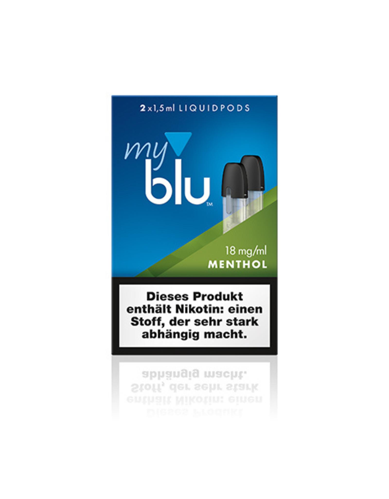 My Blu myblu MENTHOL 18mg/ml LIQUIDPOD