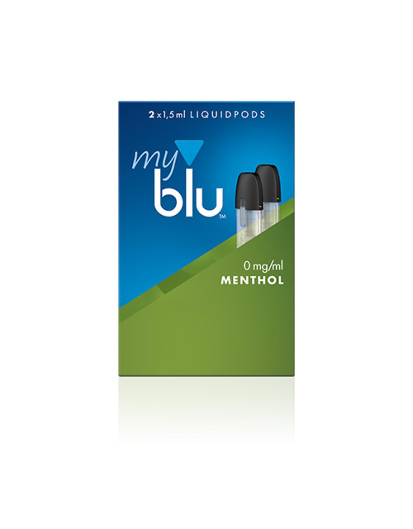 My Blu myblu MENTHOL 0mg/ml LIQUIDPOD