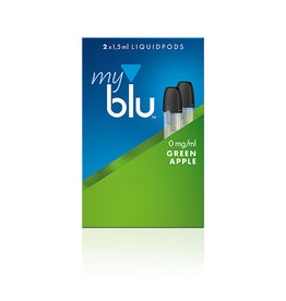 My Blu myblu GREEN APPLE 0mg/ml LIQUIDPOD