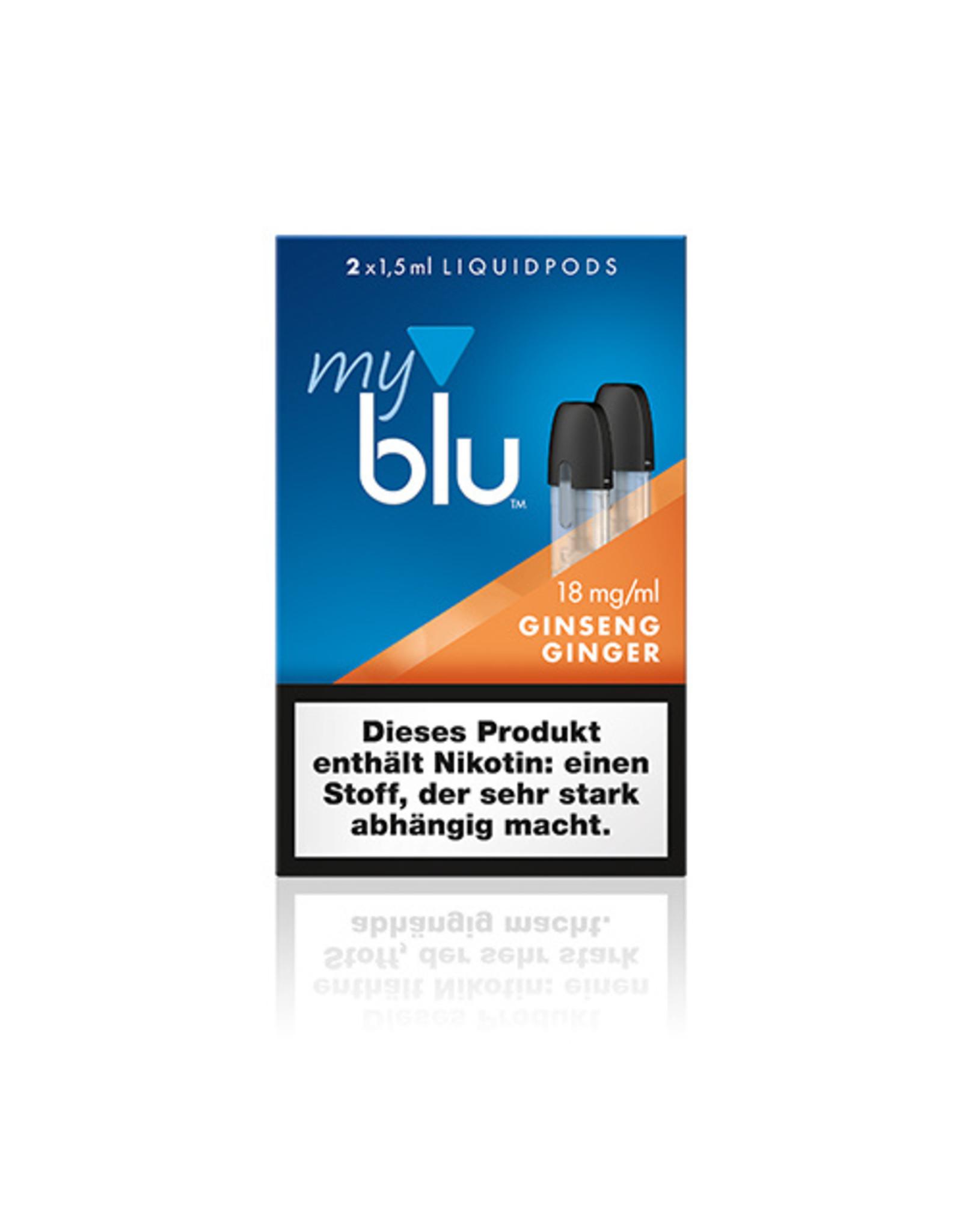 My Blu myblu GINSENG GINGER 18mg/ml LIQUIDPOD