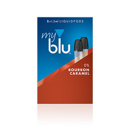 My Blu myblu BOURBON CARAMEL 0mg/ml LIQUIDPOD