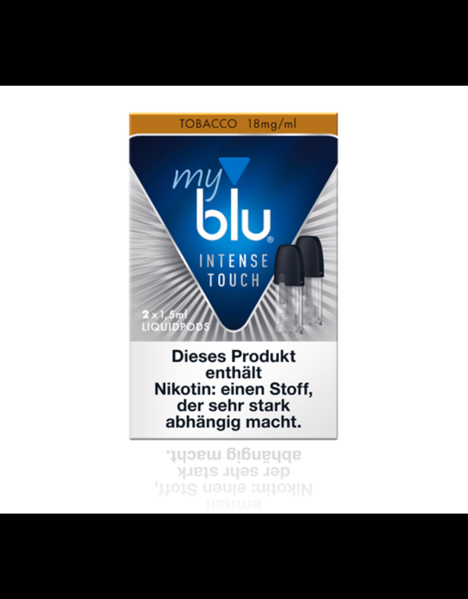 My Blu myblu INTENSE TOUCH TOBACCO 18mg/ml LIQUIDPOD