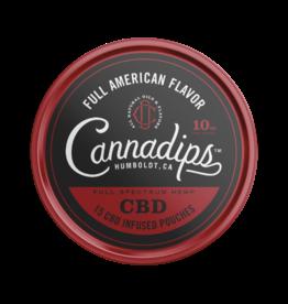 Cannadips Cannadips Full American Flavour  CBD  8,25g Dose