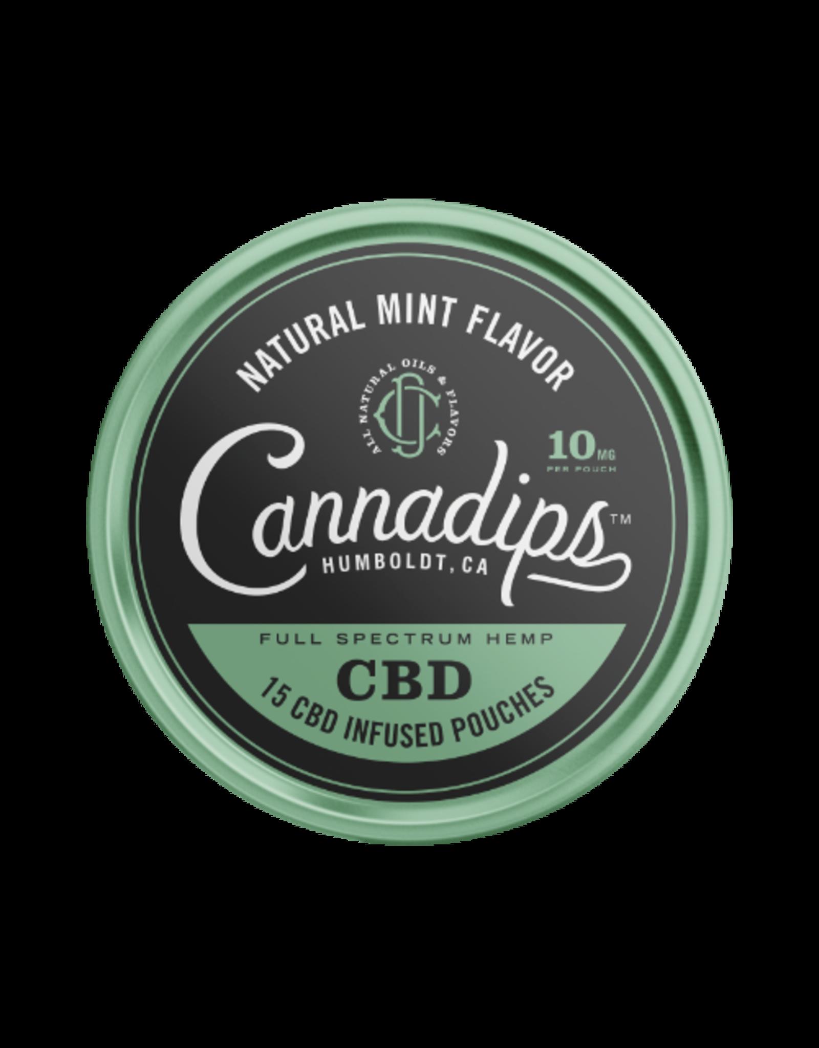 Cannadips Cannadips Natural Mint Flavour CBD 8,25g Dose
