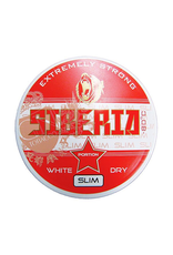 Siberia Siberia -80° Red Slim Extremely Strong White Dry Chewing Bags