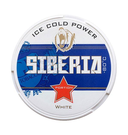 Siberia Siberia -80° Ice Cold Power White Chewing Bags