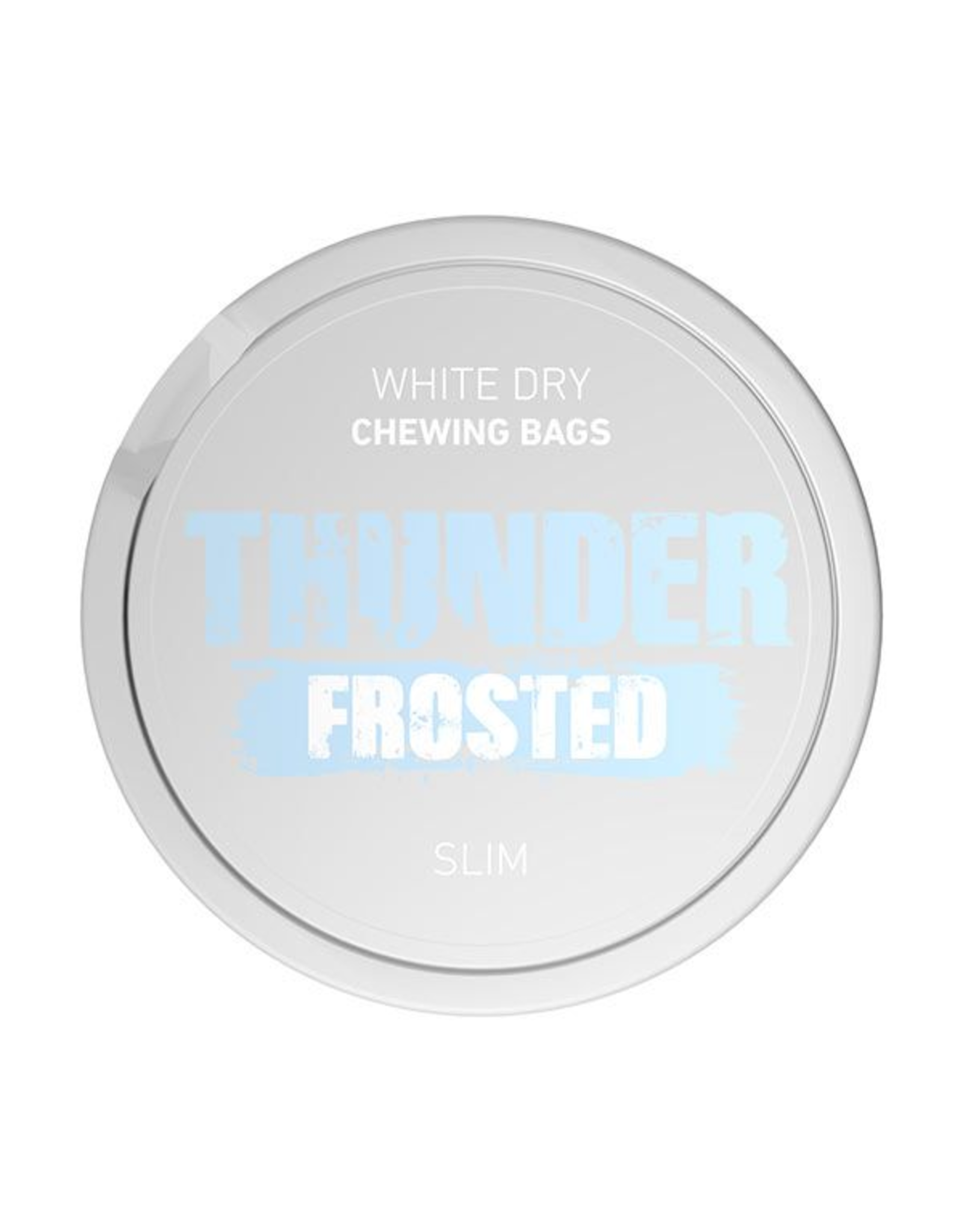 Thunder Thunder Frosted Slim White Dry Chewing Bags