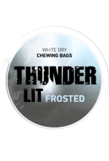 Thunder Thunder LIT Frosted White Dry  Chewing Bags