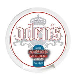 odens Oden's Cold Extreme White Dry Slim Chewing Bags