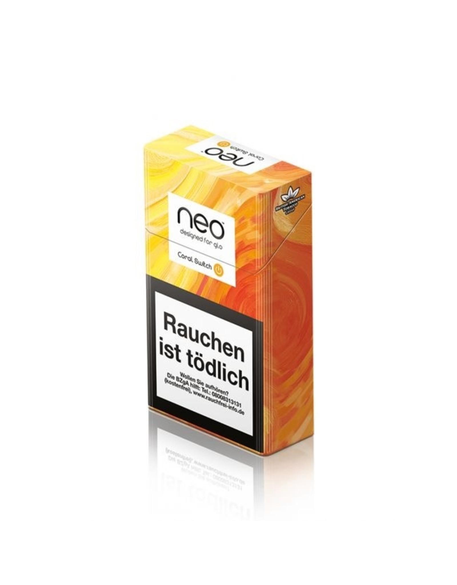 GLO NNEO Coral Switch - Tabak Sticks Einzelpackung