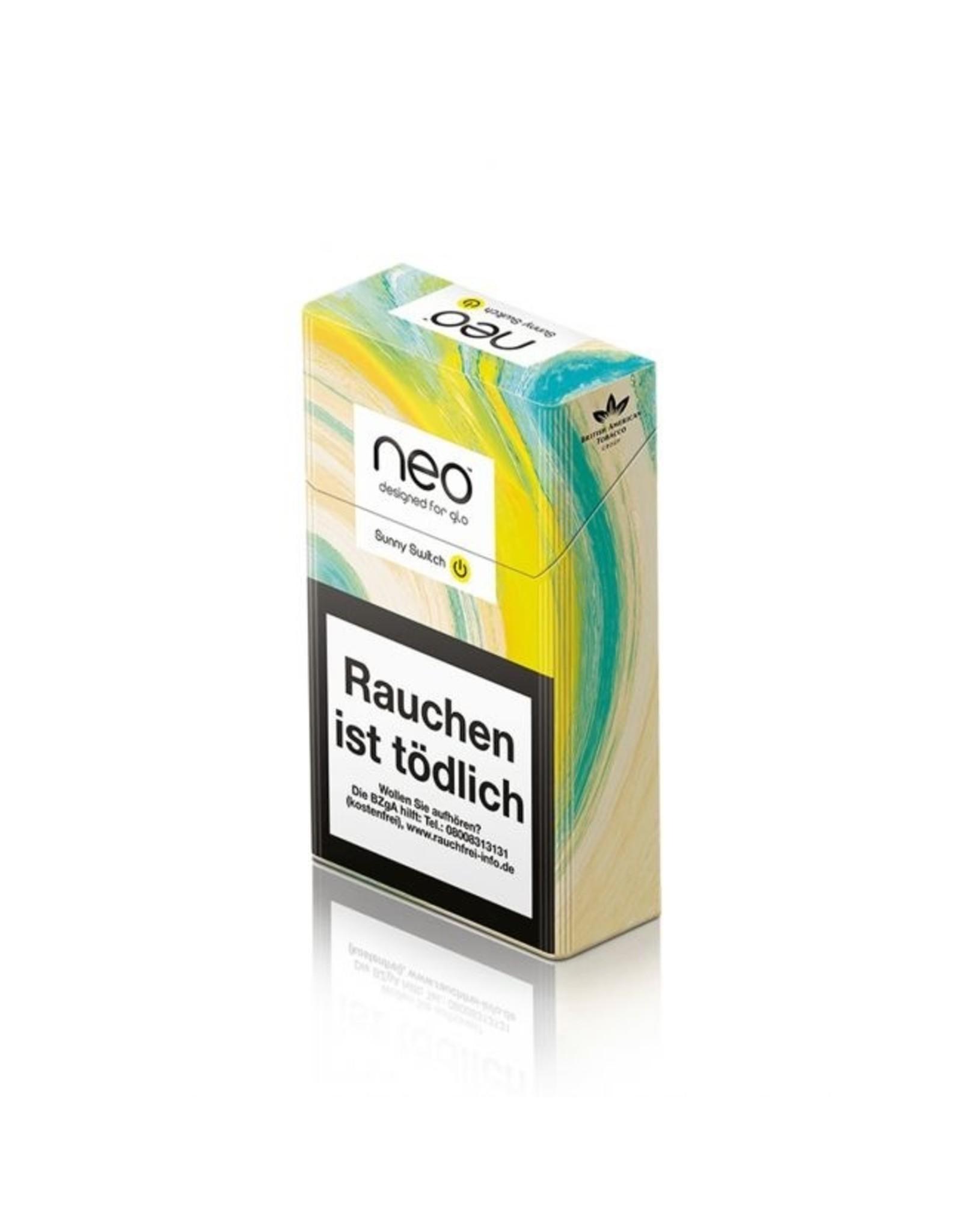GLO NEO Sunny Switch - Tabak Sticks Einzelpackung
