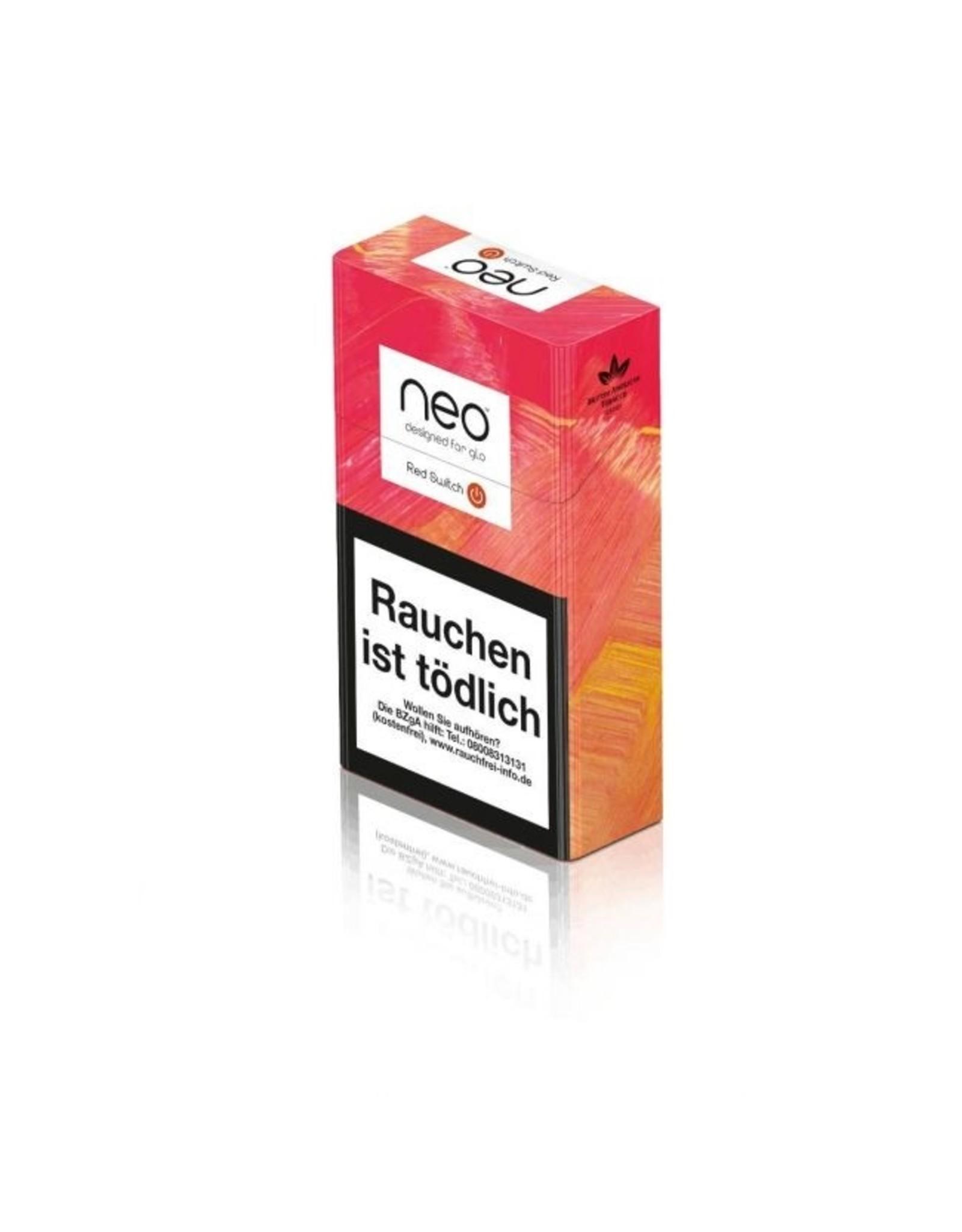 GLO NEO Red Switch - Tabak Sticks Einzelpackung