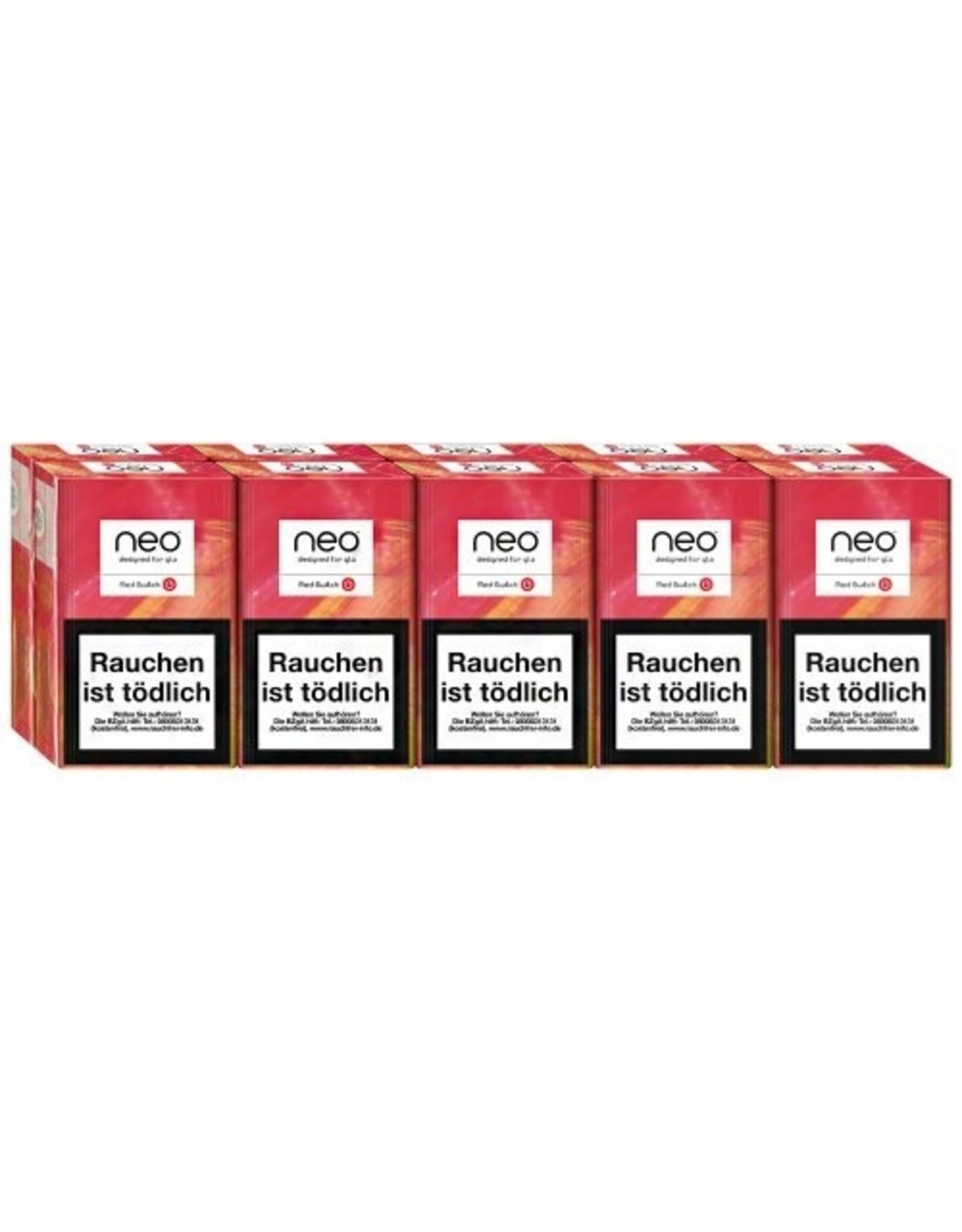 GLO NEO Red Switch - Tabak Sticks (10x20 Stück)
