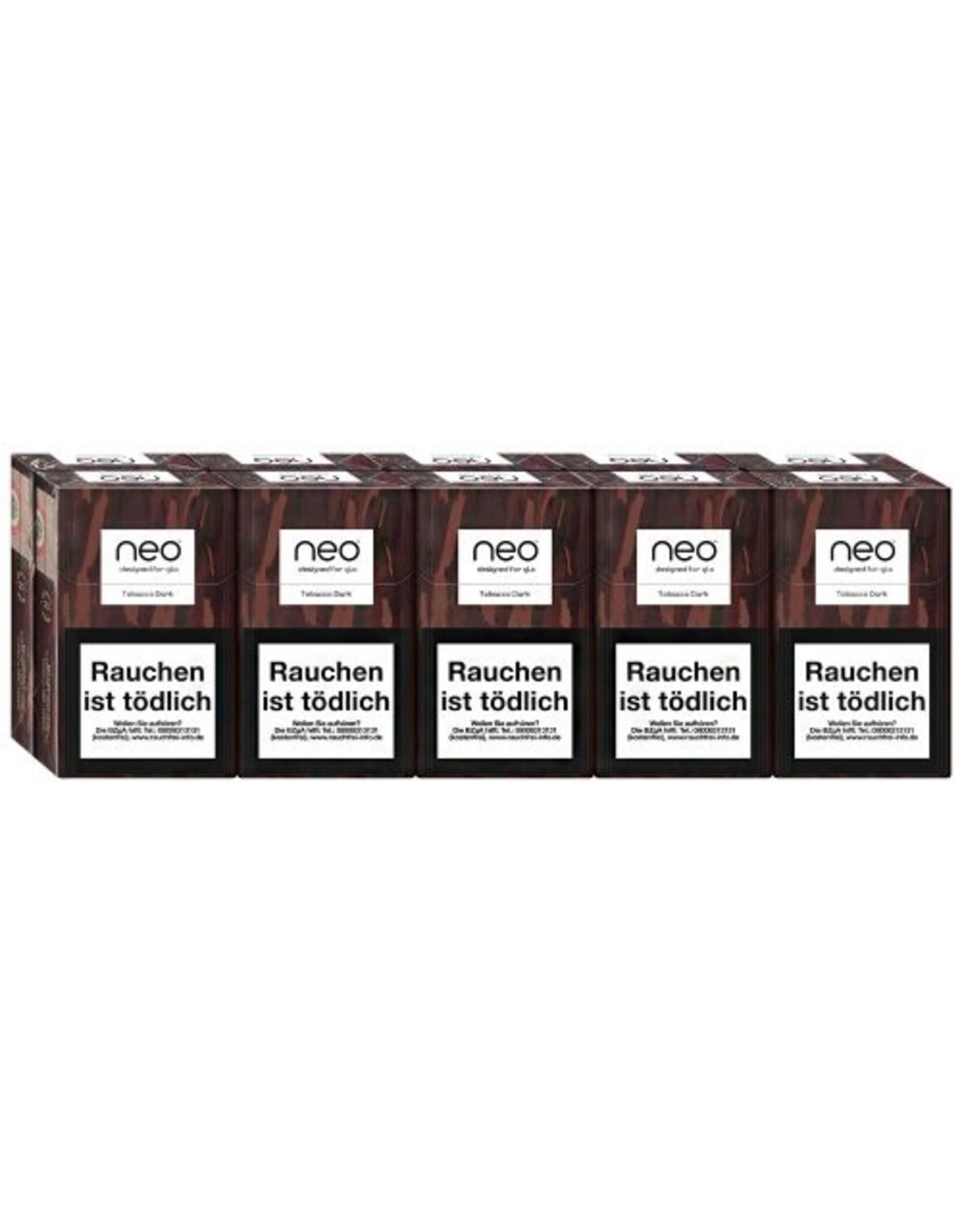 GLO NEO Tobacco Dark - Tabak Sticks (10x20 Stück)