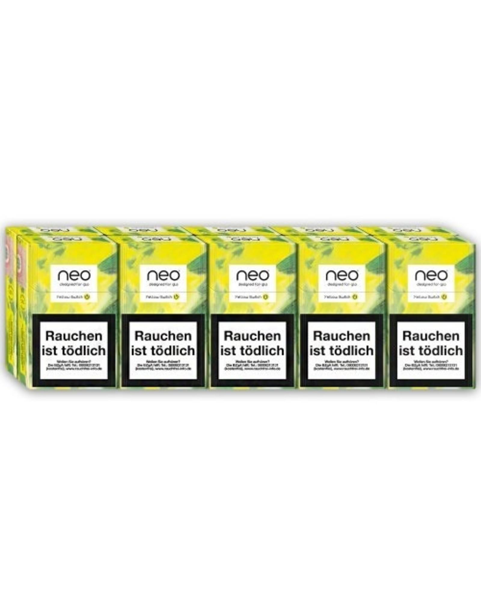 GLO NEO Yellow Switch - Tabak Sticks (10x20 Stück)
