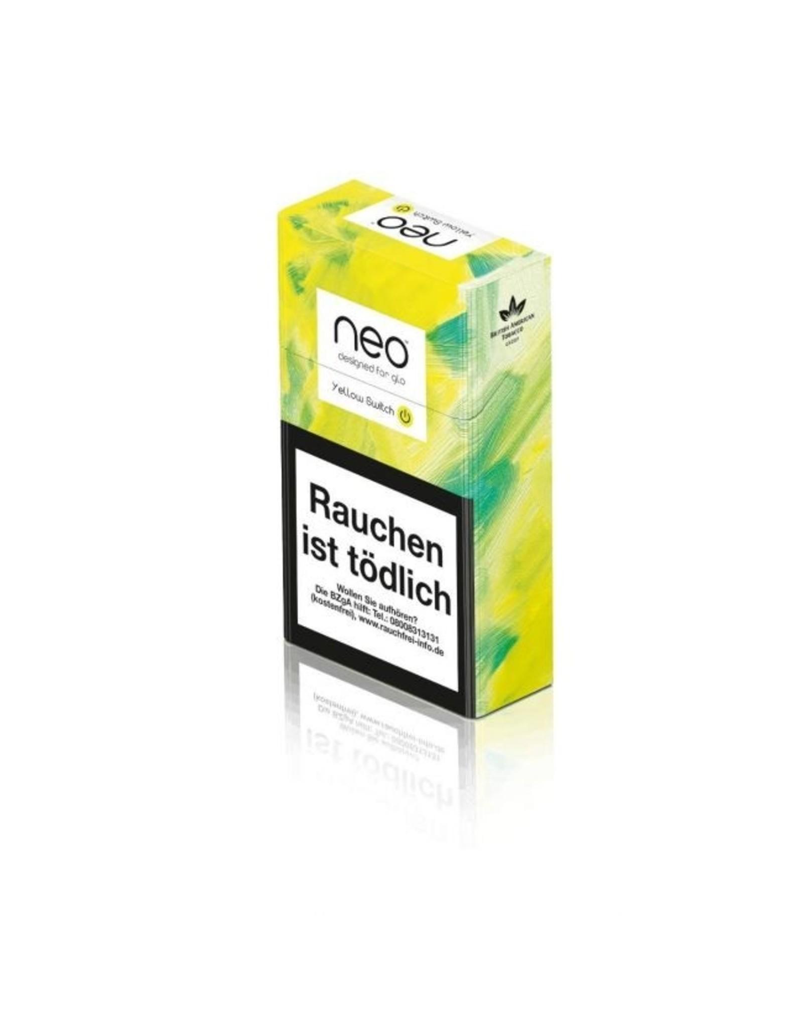 GLO NEO Yellow Switch - Tabak Sticks Einzelpackung