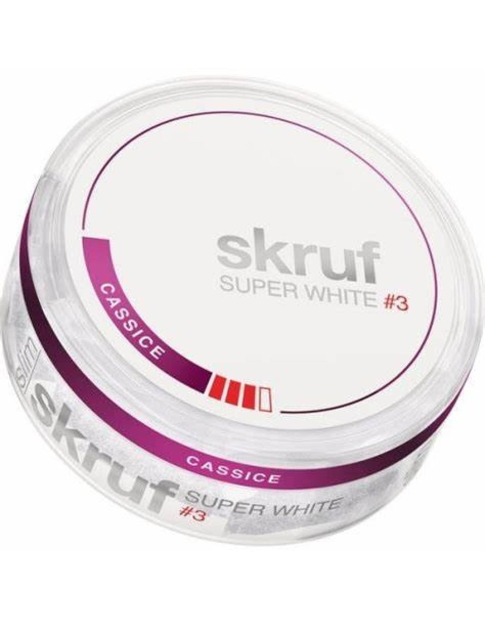 Skruf skruf Super White #3 Cassice