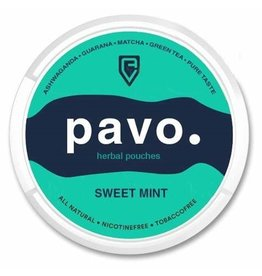 PAVO PAVO Sweet Mint Herbal Pouches