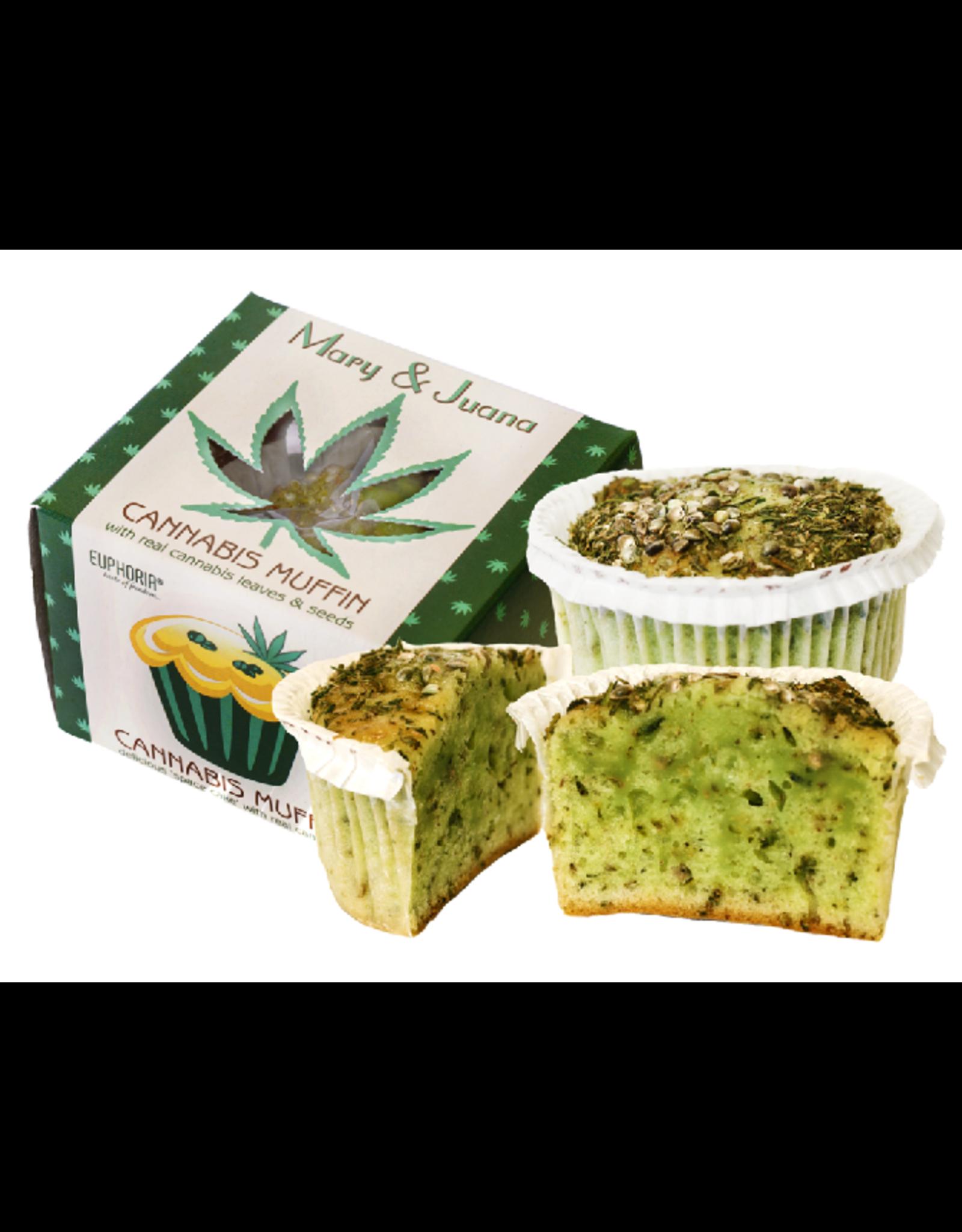 Euphoria Mary&Juana Cannabis Muffins
