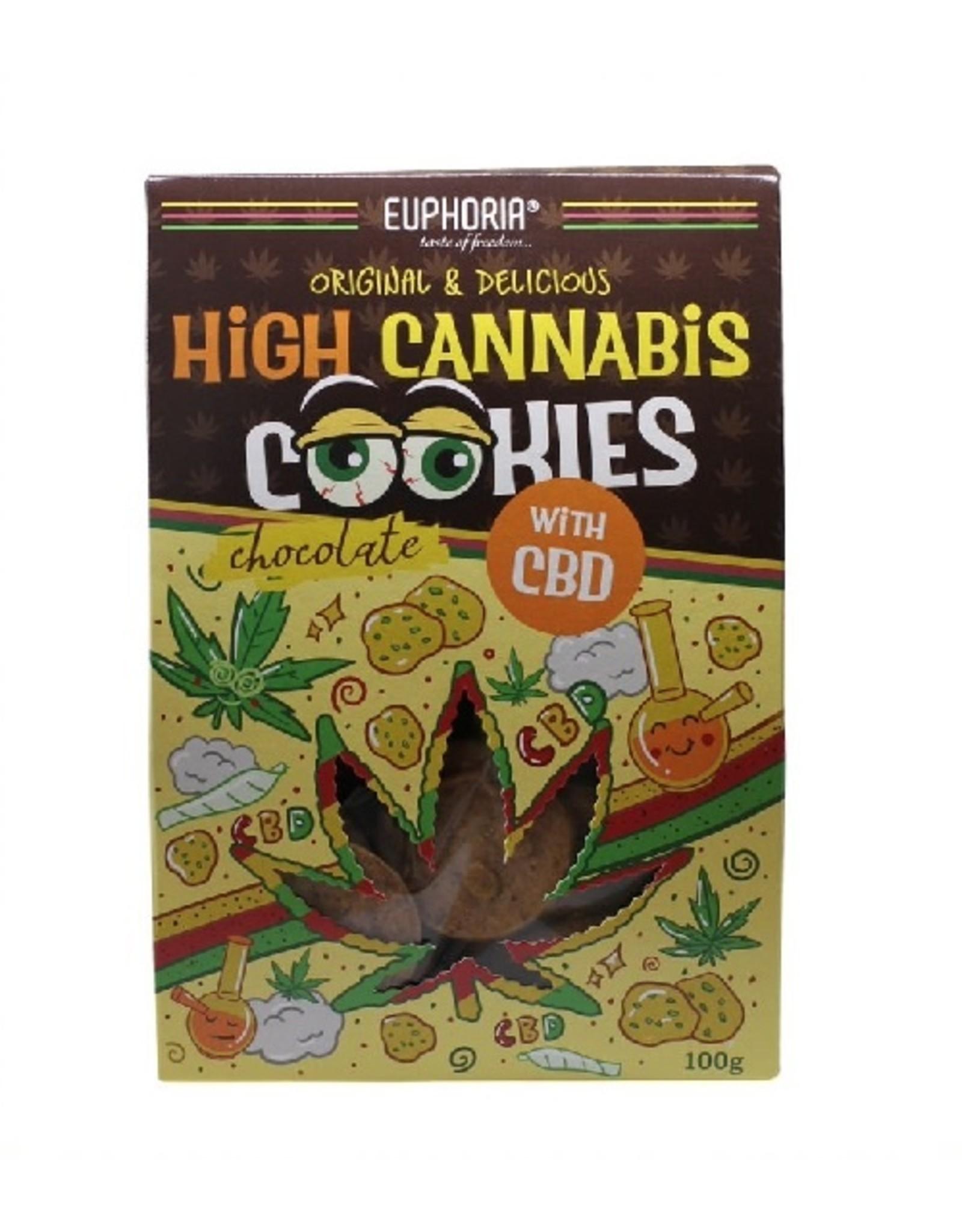 Euphoria High Cannabis Cookies CBD Chocolate