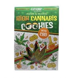 Euphoria High Cannabis Cookies CBD