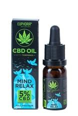 Euphoria Euphoria CBD 5% Öl - Mind Relax