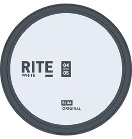 RITE Original White Slim Chewing Bags