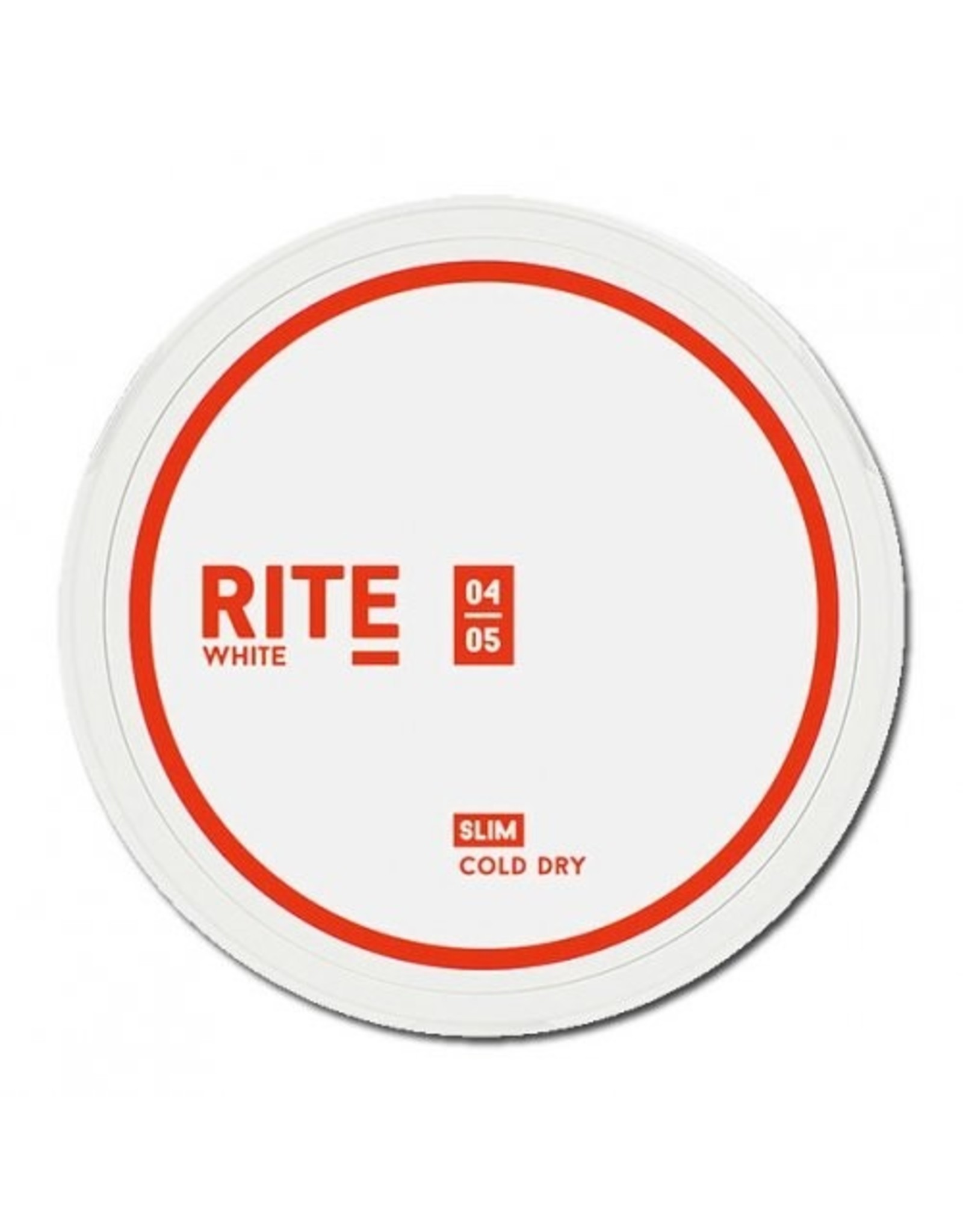 RITE Cold Dry White Slim Chewing Bags