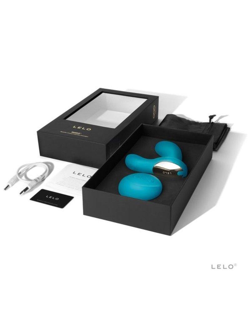 Lelo Lelo Hugo Prostate Massager Vibrator Ocean Blue