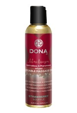 Dona by Jo Dona Massage Oil Strawberry Soufflé Kissable 125ml