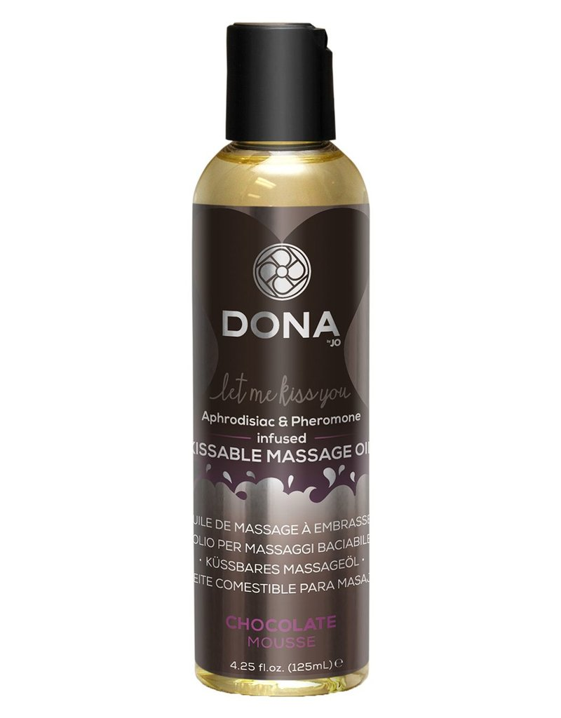 Dona by Jo Dona Massage Oil Chocolate Mousse Kissable 125ml